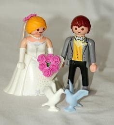 Nouveau couple de jeunes mariés Playmobil® sur WWW.PLAYBOUTIK.COM
