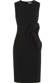 BOTTEGA VENETA  Appliquéd crepe dress $3,708
