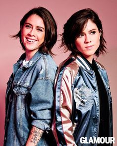 tegan and sara | Thank you Alyse Whitney, Katie Friedman and @glamourmagazine! http://glmr.co/yjm134c