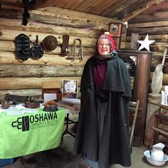 Happy Saturday! Are you heading to the Purple Woods Maple Syrup Festival today? Stop by Aunt Penny's Cabin and say hello to our Visitor Hosts! .  .  .  #cloca #oshawa #oshawamuseum #museumlife #maplesyrup #localevents