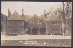 POLICE STATION WITNEY OXON RPPC OXFORDSHIRE   eBay Witney Oxfordshire, Police Station, Old Postcards, Barcelona Cathedral, Taj Mahal, History, Pictures, Travel, Ebay