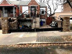 Wrought Iron Driveway Gate Installation Wrought Iron Driveway Gates, Building, Places, Decor, Decoration, Buildings, Dekoration, Inredning, Interior Decorating
