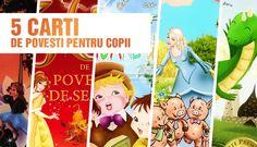 5 carti de povesti pentru copii