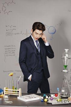 Kim Woo Bin (김우빈) for Sieg's Spring / Summer ad campaign Lee Hyun Woo, Lee Jong Suk, Korean Star, Korean Men, Asian Men, Asian Actors, Korean Actors, Korean Actresses, Kim Wo Bin