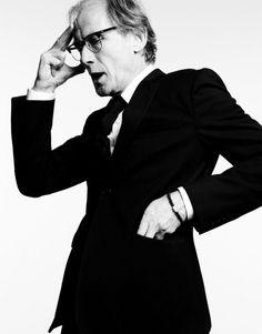 Bill Nighy. Scrimgeor etc. Excellent British actor.