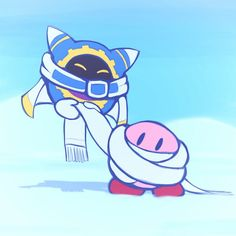 28/12/17: Magolor and Kirby