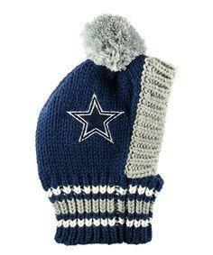 Take a look at this Dallas Cowboys Knit Pet Hat today!