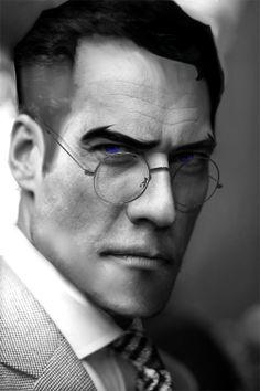 TF2 characters photoshop: Medic - 7/10