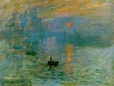 Impresión, salida del sol, Claude Monet