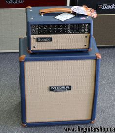 MESA BOOGIE MARK V 25 HEAD WITH 1X12 RECTO CAB BLUE BRONCO AND TAN - The Guitar Shop ....... 905-274-5555