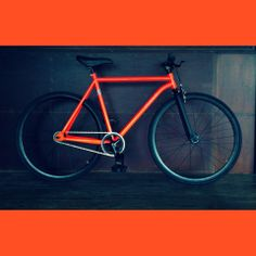 Orange RH+O (by RH+O fixed gear specialist! Fixed Gear, Bicycle Design, Cool Things To Buy, Stuff To Buy, Cars And Motorcycles, Gears, Cycling, Colors, Bicycles