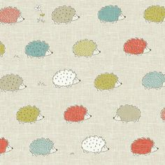Featuring a multi coloured hedgehog print on a grey, woven effect background this PVC fabric is sold by the metre.Because our fabric by the metre is cut to the size you require, we can only accept returns if the item is faulty (i. damaged or marked). Pvc Fabric, Fabric Wallpaper, Table Covers, Designer Wallpaper, Bag Making, Fabric Design, Sewing Projects, Kids Rugs, Prints