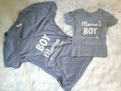 Boy mama - mamas boy set - mommy and me set