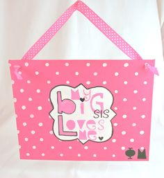 @Emily Specker-makes me think of you now. Big/little presents! Phi Mu ~ my big sis loves me.