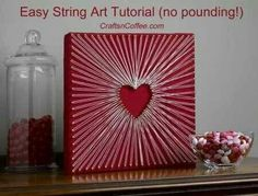 String art- Crafts - DIY - Homemade -