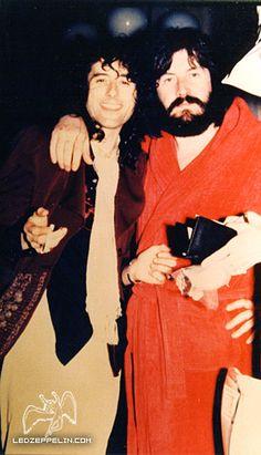 Jimmy Page and John Bonham, NY