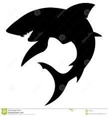 imagenes siluetas tiburones - Buscar con Google Stencil Art, Stencils, Shark Tattoos, Window Decals, Pissed, Sharks, Snorkeling, Underwater, Diving