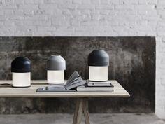 Volume LED table #lamp designed by #GamFratesi for #Lightyears
