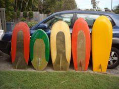 Vintage surfboards UK