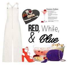 """RED White and Blue !!28 June 2016"" by eiliana ❤ liked on Polyvore featuring LSA International, Gibson, BCBGMAXAZRIA, Chanel, Just Slate Company, redwhiteandblue and july4th"