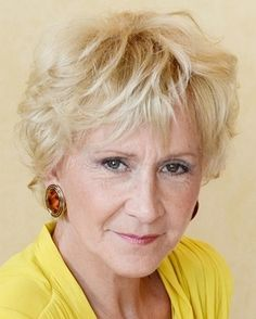 short hairstyles over 50 - short wavy hairstyle for women over 60 Short Wavy Hairstyles For Women, Bobbed Hairstyles With Fringe, Short Hairstyles Over 50, Haircuts For Wavy Hair, Undercut Hairstyles, Short Hair Cuts For Women, Trendy Hairstyles, Short Hair Styles, Short Haircuts