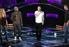 Video: The Voice Coaches Sing a Medley of Each Other's Hit Songs
