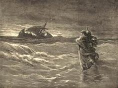 Dore, Gustave. Jesus Walking on the Sea.