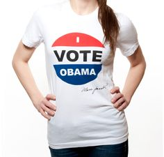 Made by Marc Jacobs + for Obama = NEED. And I def NEED THIS!