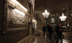 Spooky underground cities – in pictures Wieliczka Salt Mine, Underground Cities, Krakow, World History, Middle Earth, Poland, Beautiful Places, Around The Worlds, City