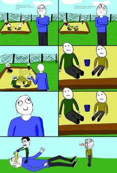 Le Kindergarten - View more rage comics at http://leragecomics.com