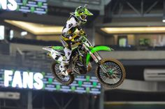 I'm sorry but there is just something about a guy in a motocross jersey....  Ryan Villopoto PHOENIX SUPERCROSS 2014