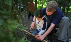 Forest Schools give children the opportunity to learn out in the open