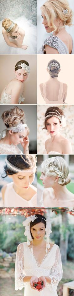 17 Winter Bridal Hair Ideas