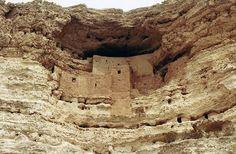Montezuma's Castle - Anasazi Ruins in Northern Arizona