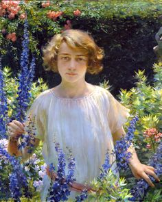 Charles Courtney Curran, Betty Newell