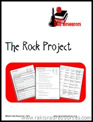 The Rock Project - A Research Project for your Literacy Center