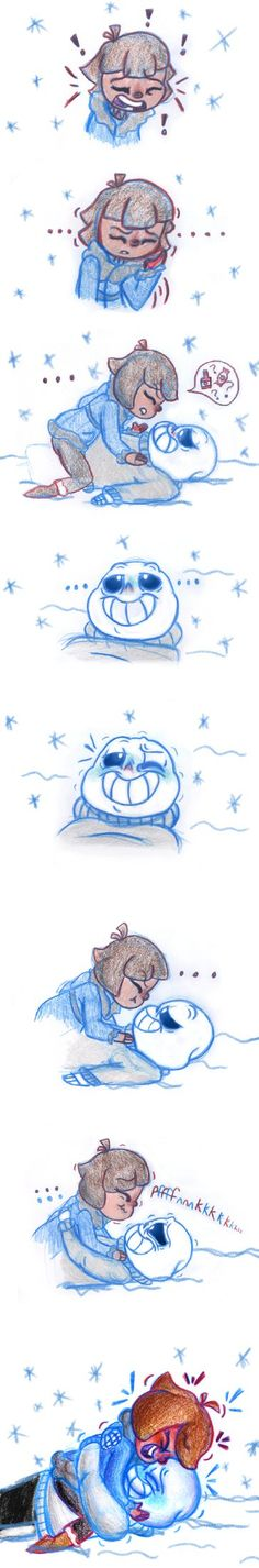 Cold Bodies, Warm Hearts Pt 3 (Undertale) by Leilani-Lily on DeviantArt