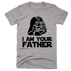 i am your father starwars darth vader head  t-shirt