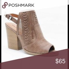 COMING SOON! Taking Pre-orders! Coming soon!  Taupe cutout booties.  Will be in within the next week.  More pics coming when they arrive.  Comment below with what size you need to reserve yours.  I will let you know when they come in! First come, first served. The Posh Panda Shoes Ankle Boots & Booties
