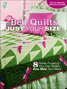 This is truly a great craft book. Full of pretty and easy patterns that are adaptable in many sizes. Easy enough for a beginner like me to make a great-looking #quilt. $9.95