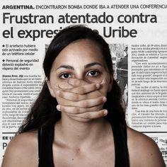 Frustran atentado contra el expresidente Uribe.