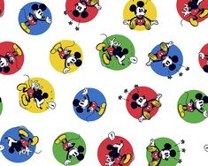 Mickey Mouse Stickers Cotton Fabric Sew Over It Patterns, New Look Patterns, Simplicity Patterns, Sewing Patterns, Fleece Fabric, Cotton Fabric, Mickey Mouse Stickers, Christmas Fabric Crafts, Tilly And The Buttons