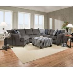 Liam Fabric Power Motion Sectional Sofa Living Room