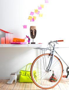 """Neon Residence"" styling by Annika Kampmann"