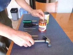 Fogão a gás de madeira - construção - YouTube