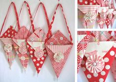 The month of February is all about love! Since we all love sewing, here are a few projects to make something special for your Valentine this year. {Heart Garden Quilt} by Ellie Roberts {Valentine P...