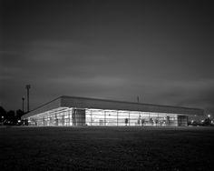 Sports Hall, Landskrona Sweden (1965) | Arne Jacobsen | Ulf Celander Photographer