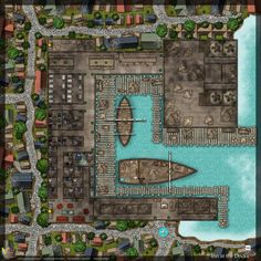 Tagged with dungeons and dragons, battlemap, dungeonsanddragons, battlemaps; Tavern and Inn at the Docks Fantasy Inn, Fantasy City Map, Fantasy World Map, Fantasy Places, Dungeons And Dragons Homebrew, D&d Dungeons And Dragons, Dnd World Map, Pathfinder Maps, Building Map