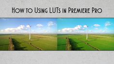 How to Using LUTs in Premiere Pro