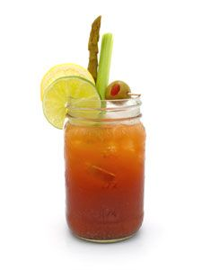 Tito's Bloody Mary ---  2 oz titos vodka,  4 oz campbells tomato juice,  4 dashes of worcestershire sauce,  3 dashes of tabasco habanero sauce,  pinch of kosher salt,  pinch of coarse ground pepper,  juice of a fresh lemon    Mixologist: Darren West